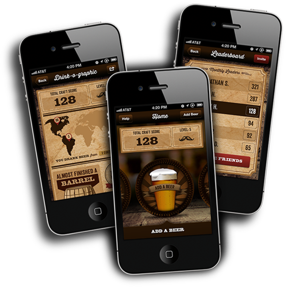 The Beer Hunt App. Available on the App Store.