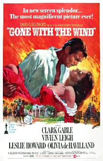 The movie, Gone With The Wind, is considered to be a derivative work of the novel. (Image Credit: IMDB).