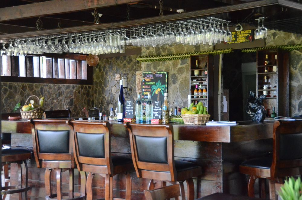 Bar at Firefly Plantation