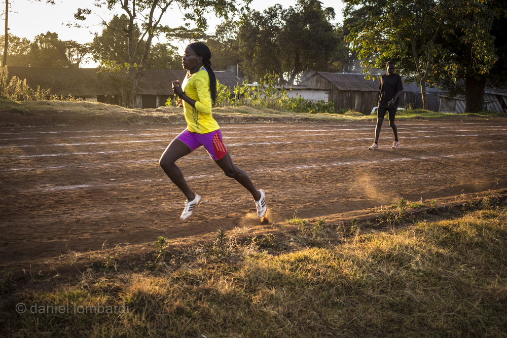 The track at Kamariny Stadium is training ground for many of the world's current and future champions, particularly on Tuesday and Thursday mornings. If it were up to me I'd do my speed workouts on Monday and Wednesday and run early on Tuesday and Thursday so I could go watch the elites train at the track afterward.