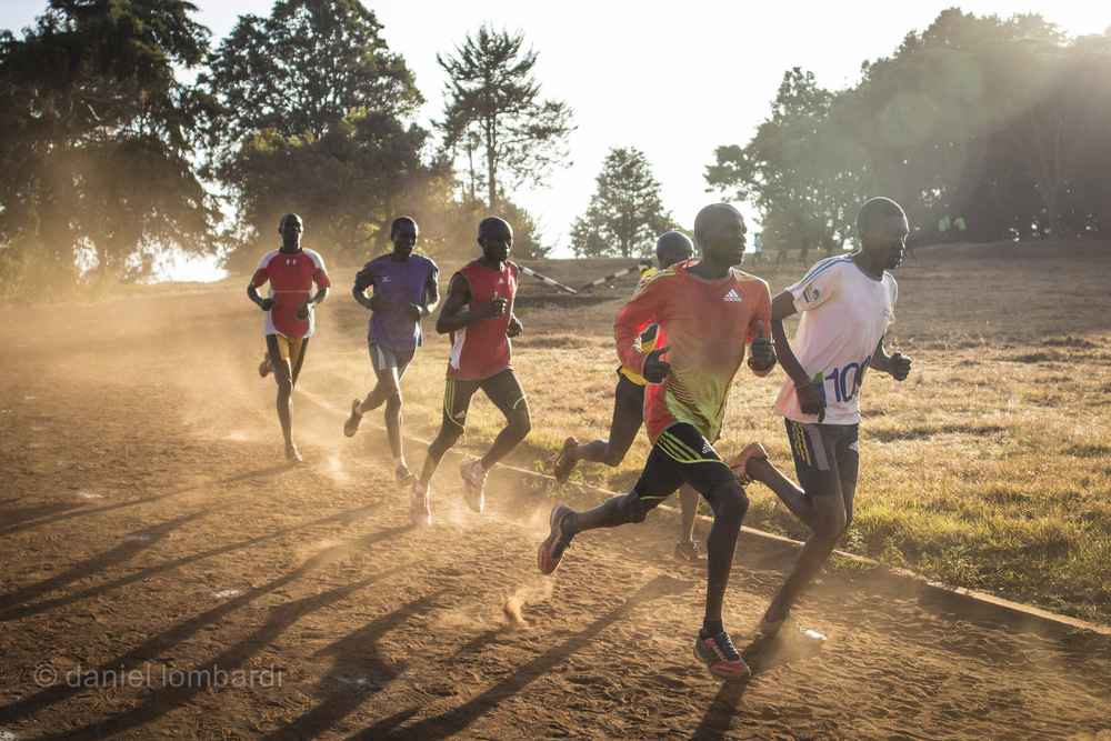 You might not know it yet but the reason you want to run in Iten is  Kamariny Stadium.  This is probably the busiest and most talented track in the world. Every Tuesday and Thursday from 6 till noon the lanes are jam packed with, literally, world record holders and gold medalists.
