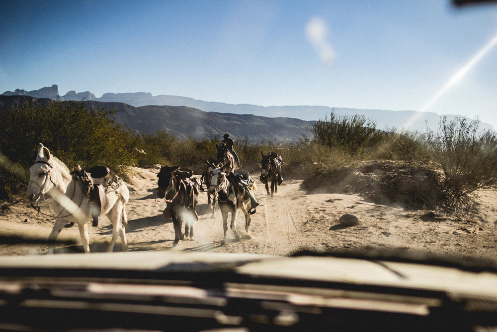 Dusty wind whips a desert winter and the washboard road shakes the old suburban until my teeth bounce inside my skull like a baby rattle. Today is Three Kings Day, known as Tres Reyes Magos in these parts, and I have talked my way into a gift delivery charity trip.     It's one of those Winter days where the sun shines through a crystal clear sky but the temperature is still nearly freezing. I want to see these rural villages for myself. I've seen the dots on the map and felt skeptical that people could really live so far out. Some of these little towns in northern Coahuila are hours from the nearest paved road and there is scant opportunity for employment.      But there are people out here. Generous and community centered people that know you don't get far by closing yourself off from others.  These folks get by with two-way radios instead of cellphones, where all conversations are public,  and neighborly support replaces shopping centers.     They eke out a living in the mines or by ranging cows. Some folks make and sell wax from the native candelilla plant. If the political environment is right there is a buck to be made in the service industry.     But the political environment never seems to be right. After 9/11 the nearest port-of-entry was closed for more than a decade, devastating the local economy.     Why did we choose to close this border crossing? It's just  a rowboat across the Rio Grande. Did anyone really think that shutting this little cultural exchange would make us safer?    The shadows stretch out and I've already lost track of how many villages we visited as we rattle back north. Quesadillas are shared with me for a late lunch and I think we should try and learn everything we can from our neighbors before we wall them off completely.