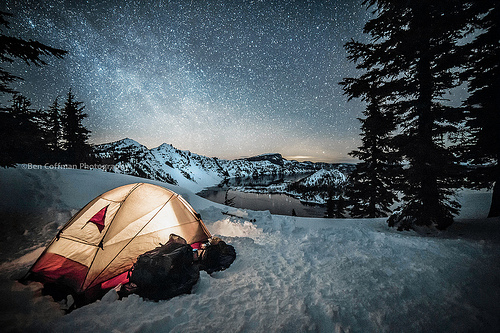 Snow Tent Image