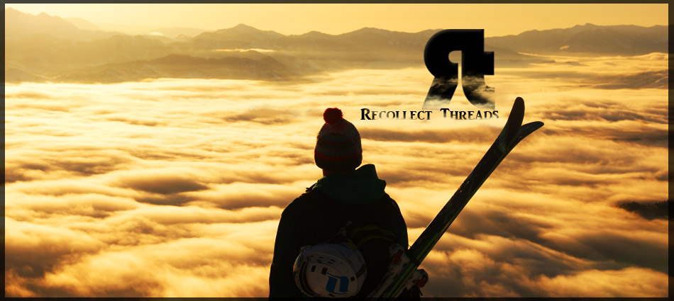 "Recollect Threads is a small company out of Jackson, WY. They produce ""backcountry inspired apparel"" that caters to people passoniate about an active lifestyle in the mountains.  They specifically specialize in backcountry skiing apparel including t-shirts, hoodies, hats, flatbrims, beanies, tank tops, sweaters and stickers that showcase their designs.   They know what looks good.  They know what people like.  They know what will be the staple of your wardrobe.  They represent their passions in a clean and astheic style that no one else is doing and no one else can.  RT strives to put their designs on your chest and send you out to flaunt it proudly.  They want their company to be built from their customers up and they have structured our business on this mentality.  RT operates on a team based model - they have crafted great teams of field reps all over the United States who are peddling the streets and spreading the RT word.  More than anything they look to all of you for feedback, suggestions, marketing, and any other ideas you may come up with."