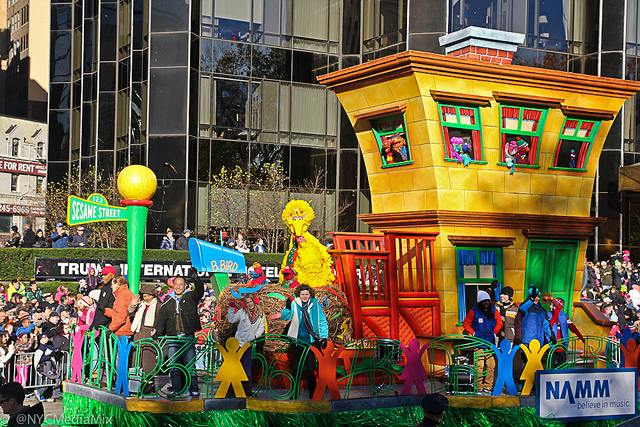 Sesame Street Float 2013