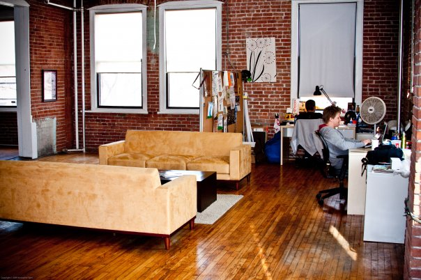 Old Loft Office - 2008