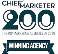 Chief Marketer 200 Agency Winner