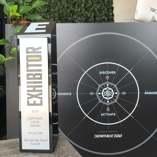 For the 3rd year, we've won a top honor from @exhibitormagazine for producing a collaborative experiential marketing program. Huge props to @vml  and @dickssportinggoods for being the best kind of clients and partners. Read more in link in bio.  #humbled #award #eventmarketing #experientialmarketing #retailmarketing #brandactivation #sportsmarketing #fitness #ontour #eventprofs #eventproduction #deptzero