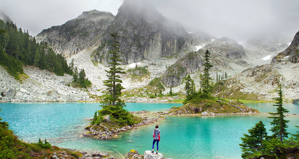 Watersprite Lake and Petite Josette  - by Brice Ferre Studio - Vancouver portrait commercial editorial advertising trail running and athlete photographer