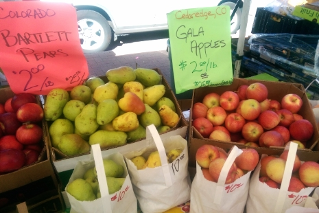 Colorado Apples and Pears