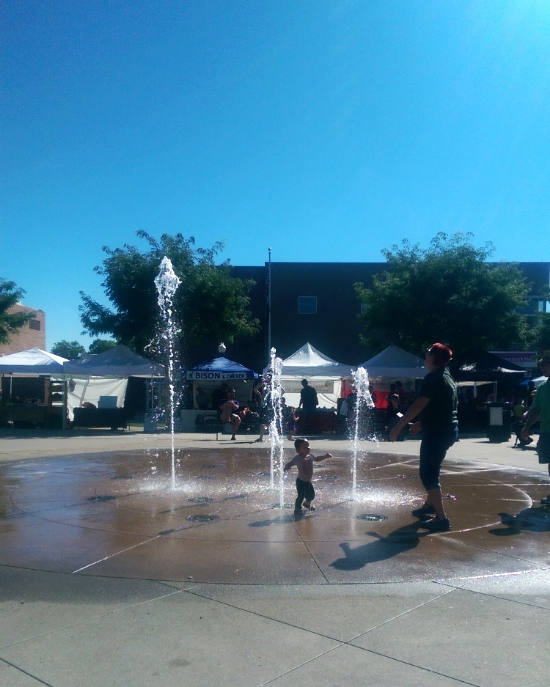 Arvada Farmers Market Fountain