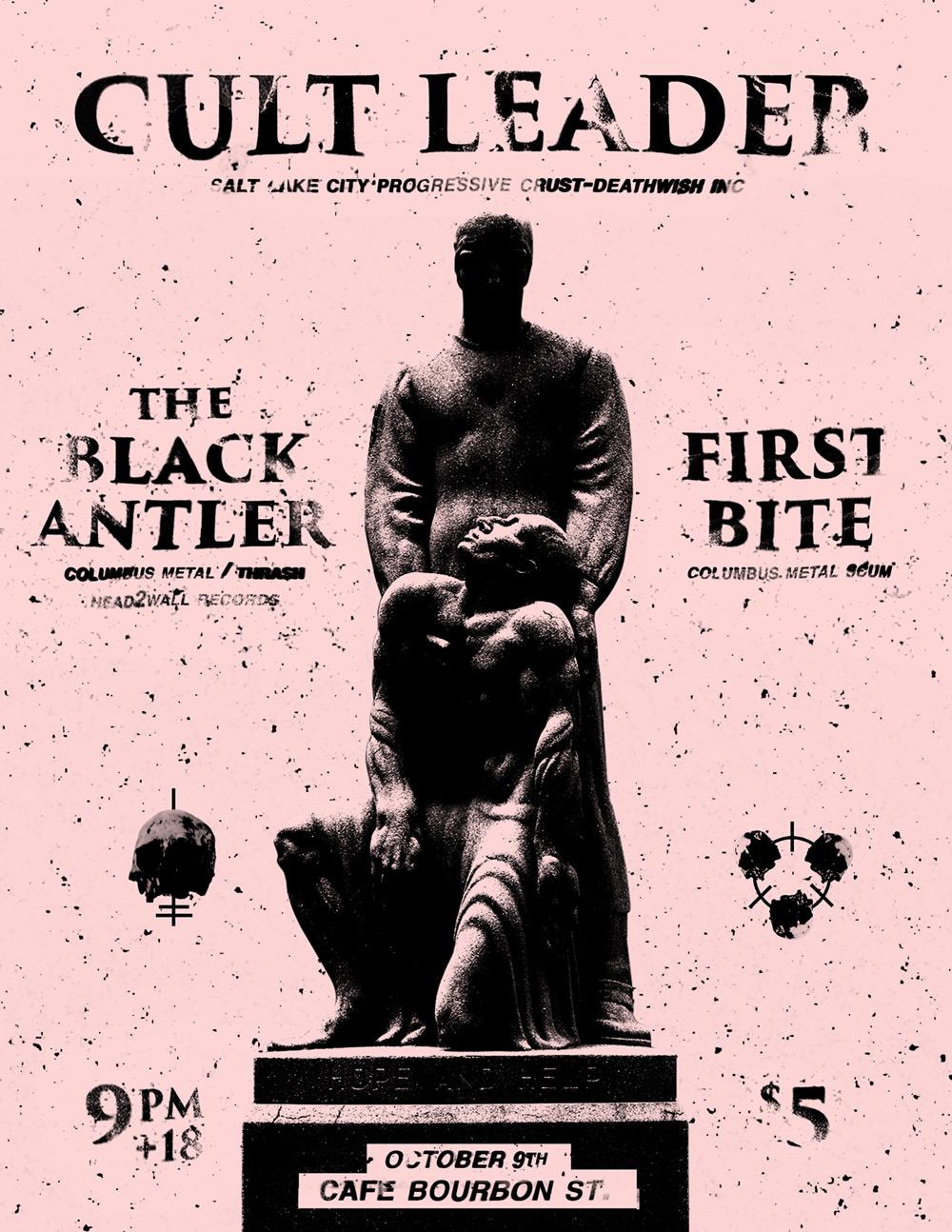 Flyer w/ Cult Leader
