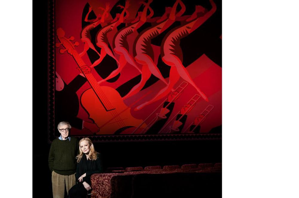 Woody Allen and Susan Stroman for TIME