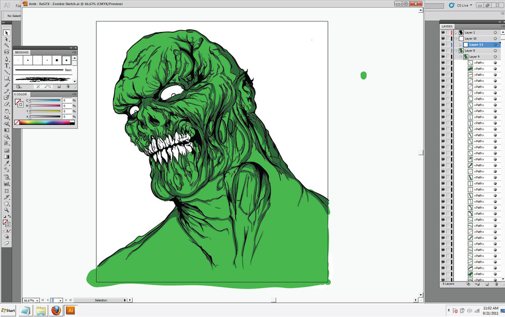 Arek---ReGFX---Zombie-Sketch---stage-two-screen-shot.jpg
