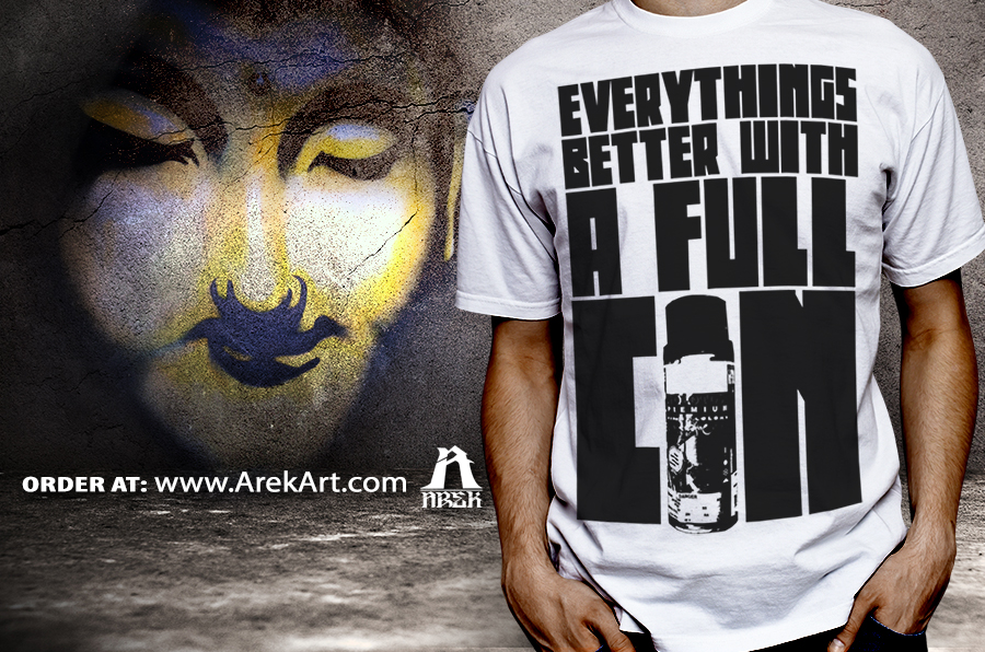 Arek-Art---Everythings-Better-With-A-FulL-Can----tshirt-mochup---scene---grunge-wall.jpg