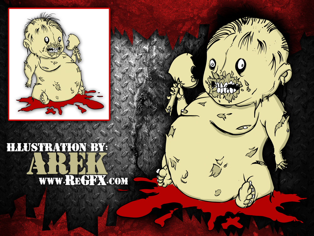 Arek---Regfx---Zombie-Baby---Illustration-Design---graphic-design-ad.jpg