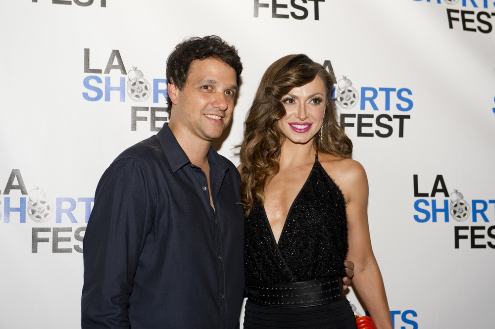 The Karate Kid   's Ralph Macchio &  Dancing with the Stars's  Karina Smirnoff at the 17th Annual LA Shorts Film Festival