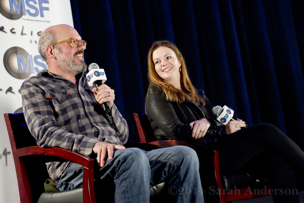 David Cross & Amber Tamblyn
