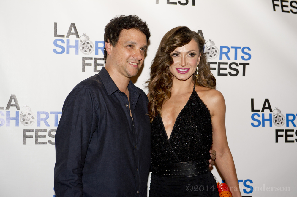 Ralph Macchio & Karina Smirnoff