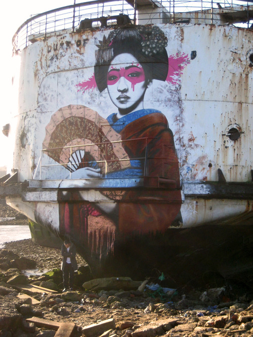 street art, fin DAC