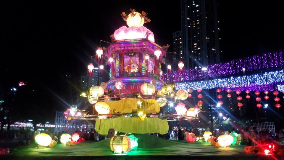 "We were so lucky to arrive on the last night of Hong Kongs ""Mid Autumn Lantern Festival'. The entire Victoria park was glowing with Lantern displays and fairy lights it was really beautiful! They also hold a Fire Dragon parade in the streets of a night during the festival. Imagine 40 degree heat, streets lined with people, and a 60 foot fire dragon made of burning incense. It was intense! So happy this was one of our first experiences in Hong Kong. I had never been to an Asian country before, so it was a real eye-opener to the culture and traditions."