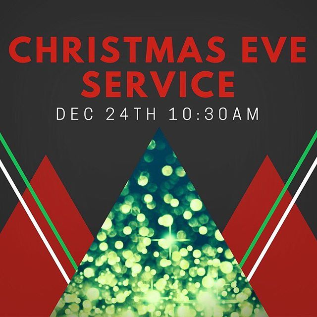 Join us tomorrow morning as we gather together for a Christmas Eve service @10:30am. #ChristmasEve #Light #Love