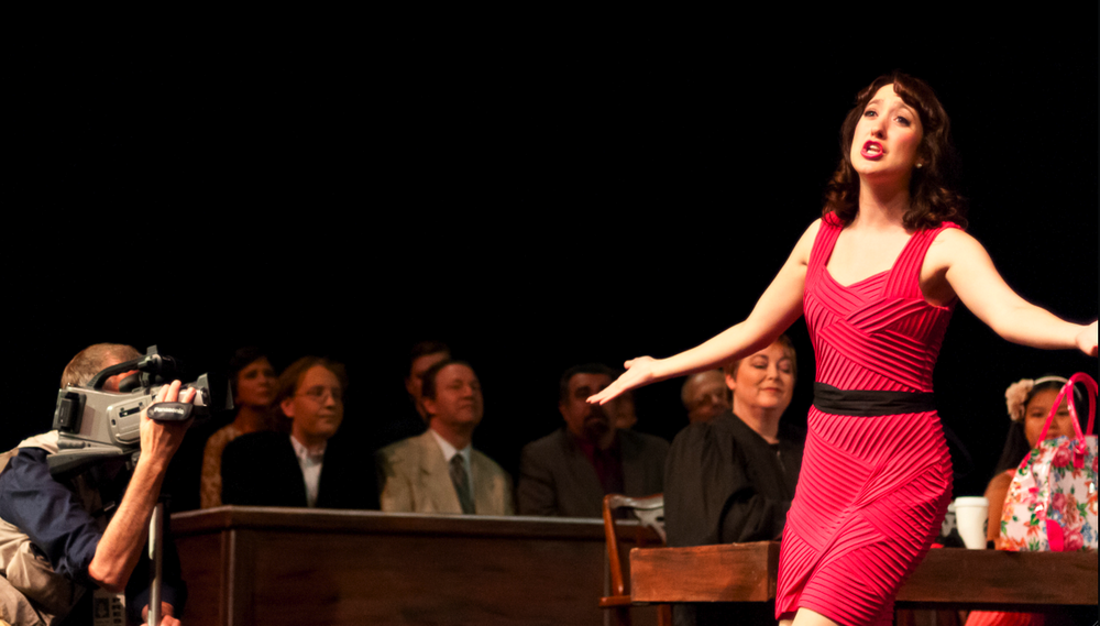"""Her voice is astounding."" -DC Theatre Scene  ""Courtney Kalbacker's Plaintiff wowed the audience with her gorgeous voice and gorgeous gams."" -Washington City Paper (Capital Fringe Festival '12)"