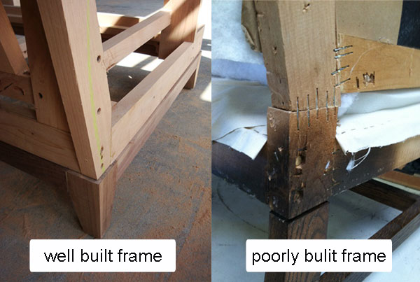 Frame comparison