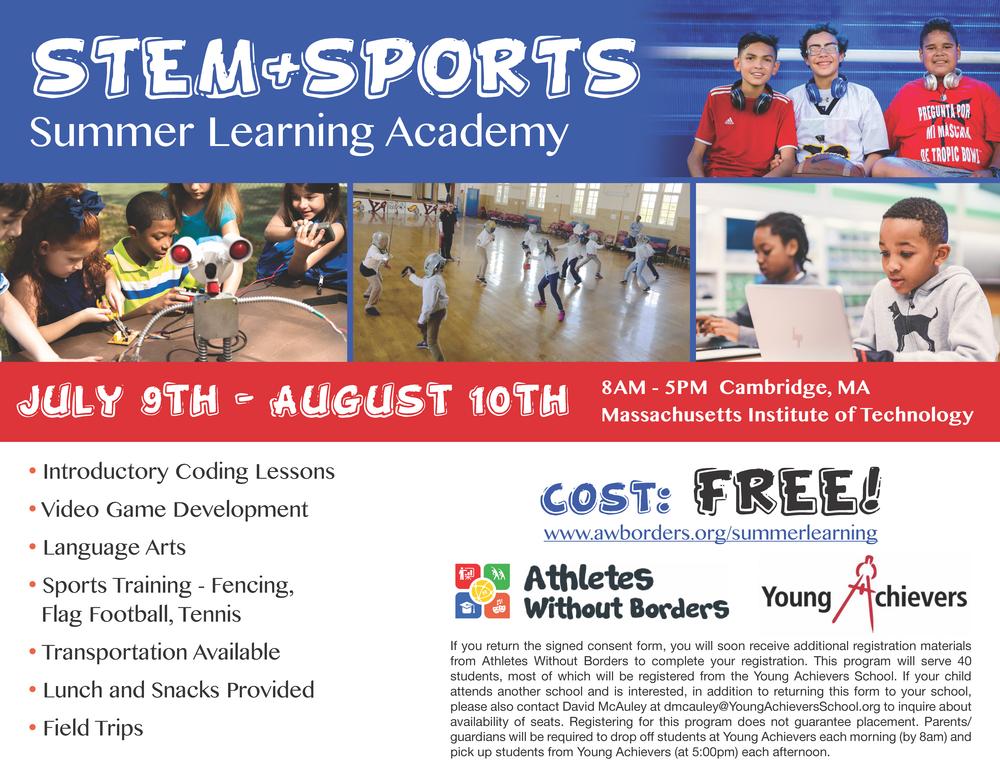 YA-AWB Summer Learning Academy