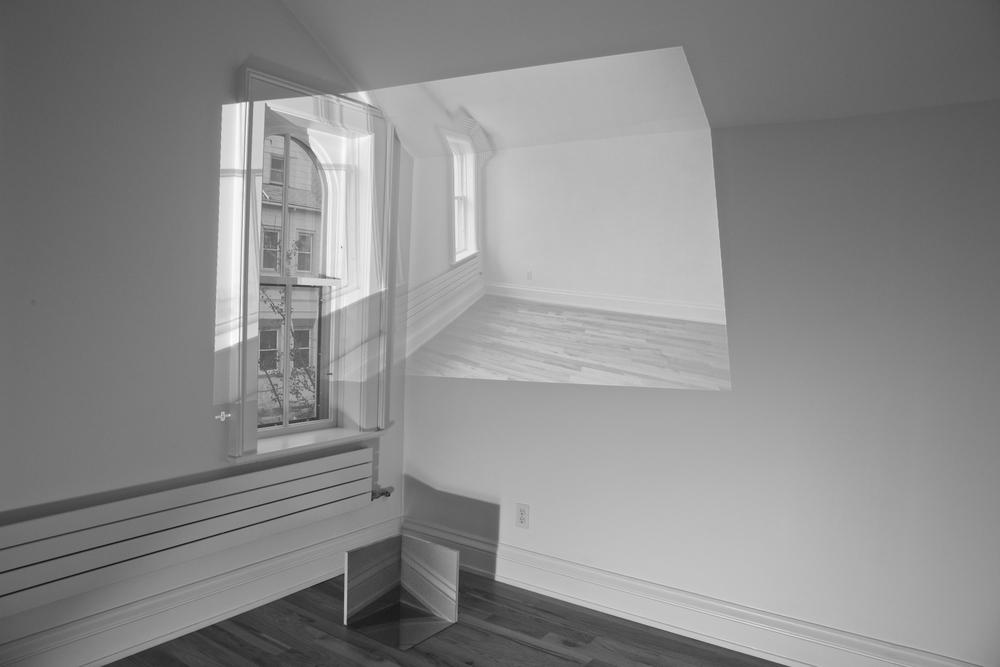 Cornered².  2014 [site-specific installation]