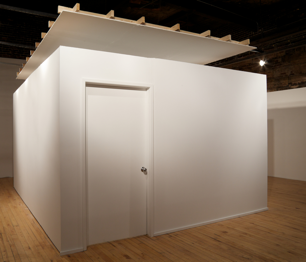 Installation View. T he locked room.