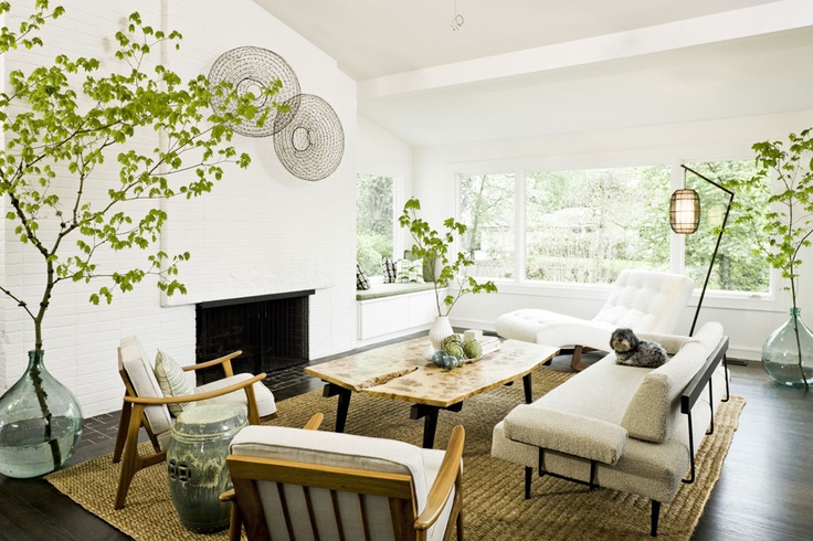 Living room by Jessica Helgerson Interior Design