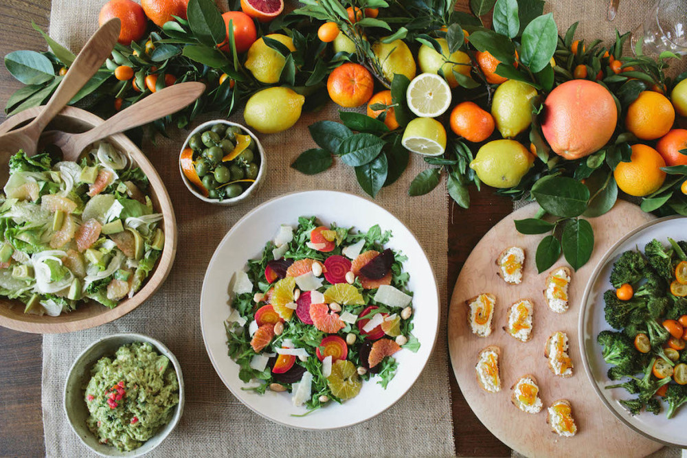 Winter Entertaining: A Citrus-Inspired Dinner