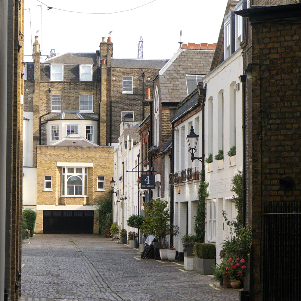 A charming London side street