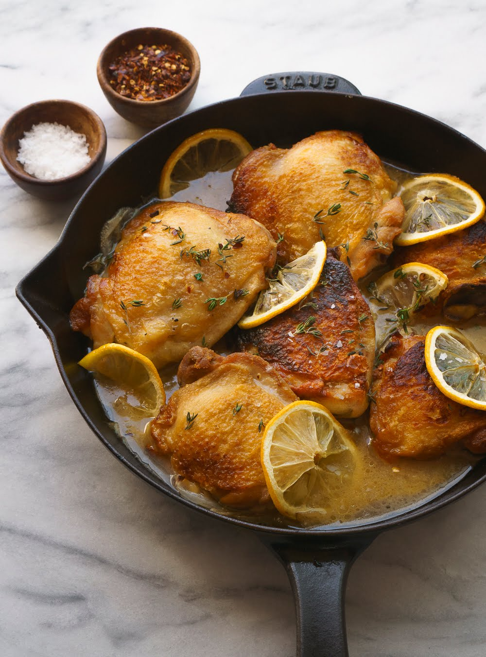 Five-Ingredient Lemony Chicken