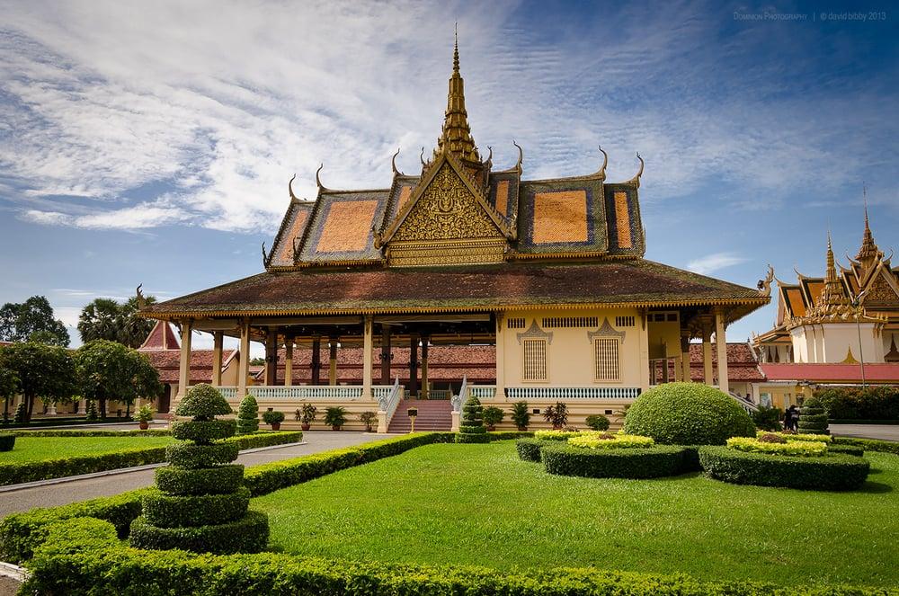 Phochani Pavilion  - Royal Palace complex, Phnom Penh, Cambodia.