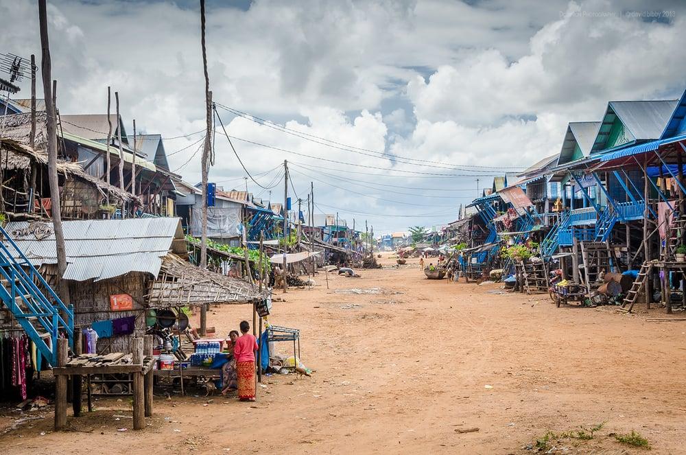 Kampong Phluk  - Siem Reap Province, Cambodia.