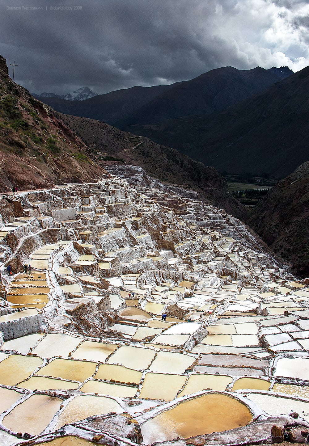 Maras salt pans, Peru.