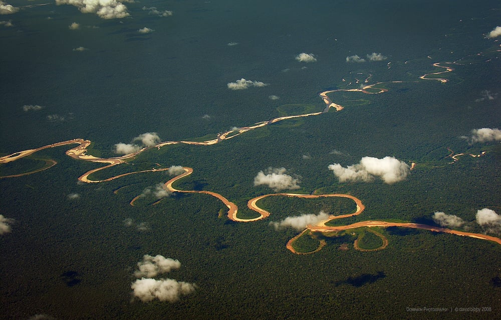 Amazon tributaries, Peru.