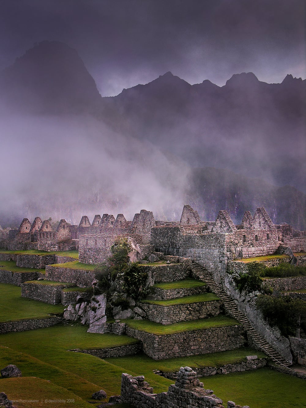 Machu Picchu at dawn. Peru.