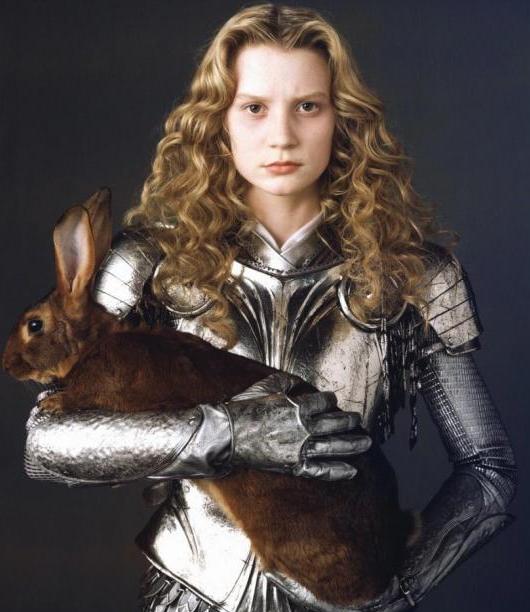 Alice in Alice in Wonderland Image via Pat Jackson's Podium Blog.