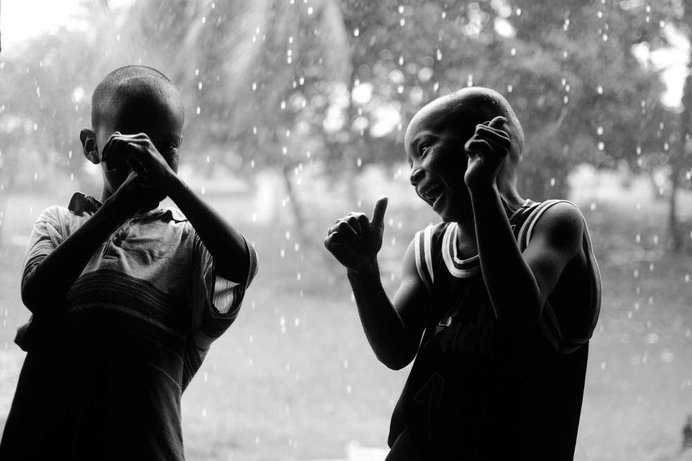 Boys in the Rain by Hakeem Adewumi