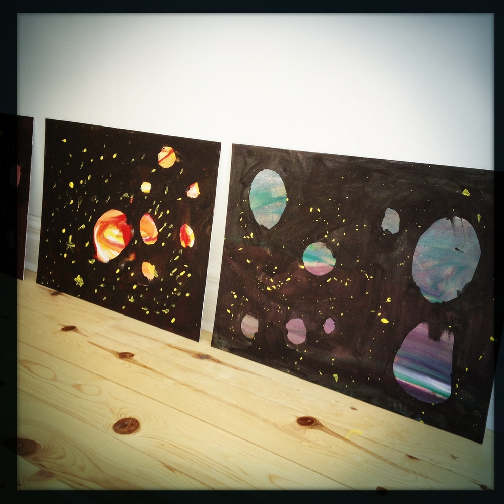 Finished 4& 5 year-old's solar systems