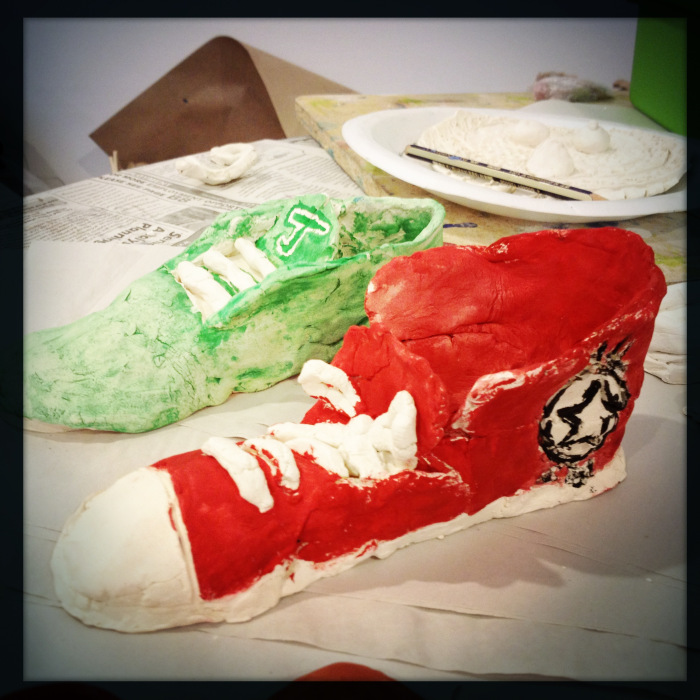more painted clay shoes.jpg