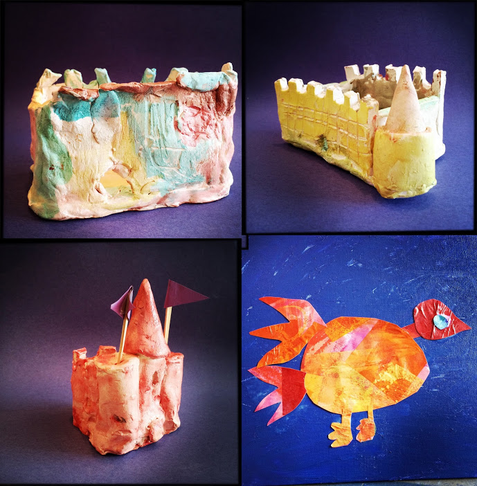 Clay castles and Firebird by JK-SK campers