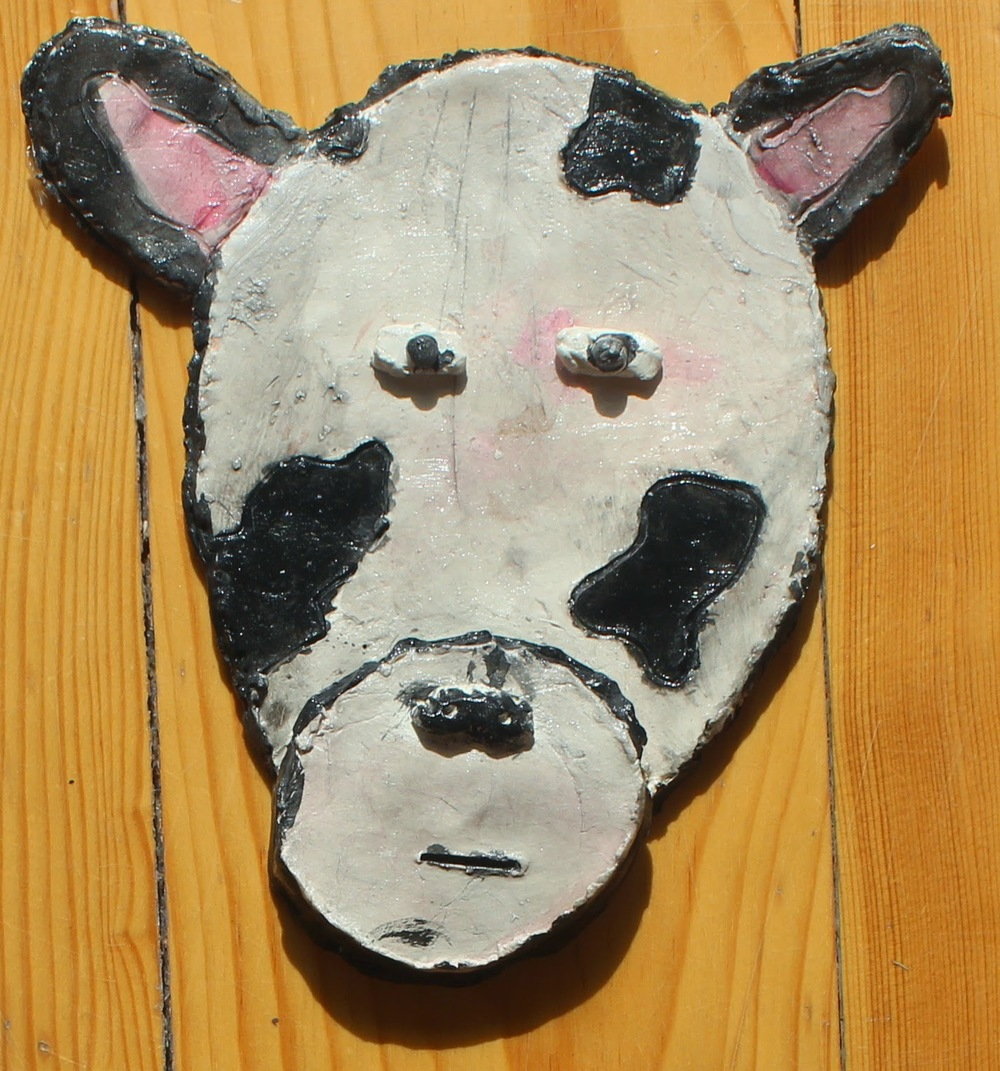 Clay animal portraits