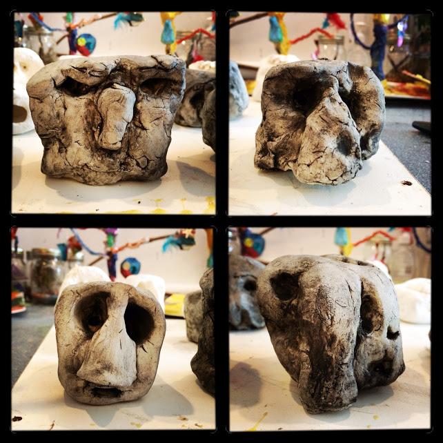 Mini Easter Island Heads