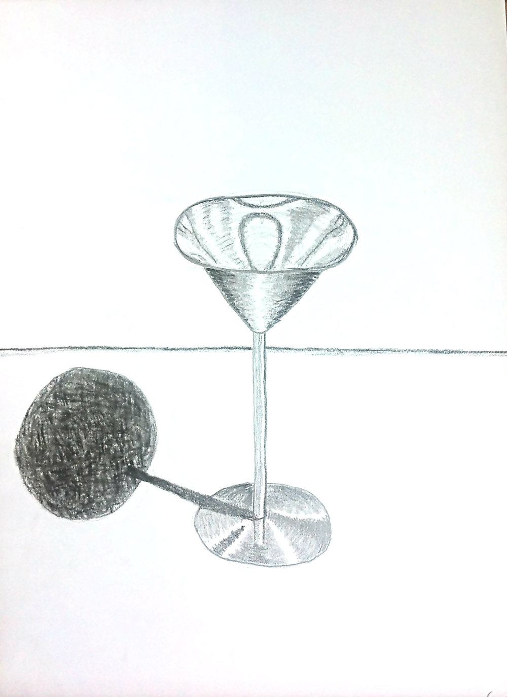Metal goblet by 12 year old student