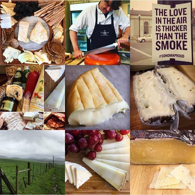 It's been quite a year here in Sonoma County. Anyone else ready to see the backside of 2017? Cheese to all of you 🧀🥂🧀 and to a happy and healthy 2018! . . . . #happynewyear2018 #cheeseshop #cheeeeese #allthecheese #2017bestnine #sonomacounty #sonomaproud
