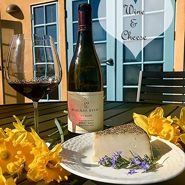 Celebrate Valentine's Day with @marimarestate - enjoy a special flight featuring limited-production wines paired with our artisanal cheeses. Offered on the following days:  Fri 2/9th - Sun 2/11 Wed 2/14 Fri 2/16 - Sun 2/18 . $35 per person/$20 for Club Marimar members to make your reservation call 707.823.4365 ext 114 . #Repost #marimarestate  #wineandcheese #valentinesday #perfectpairing #winepairing #sebastopol #westsonomacounty #cheeese #winetasting #californialove #sonomacounty